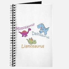 Mom, Dad & Liamosaurus Journal