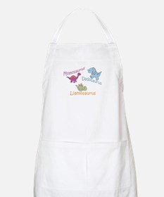 Mom, Dad & Liamosaurus BBQ Apron