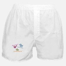 Mom, Dad & Lucasosaurus Boxer Shorts