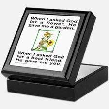 BFF GOD GAVE ME YOU Keepsake Box