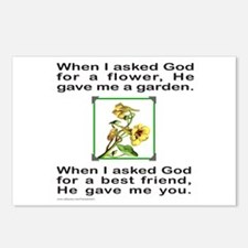 BFF GOD GAVE ME YOU Postcards (Package of 8)