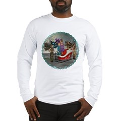 AKSC - Where's Santa? Long Sleeve T-Shirt