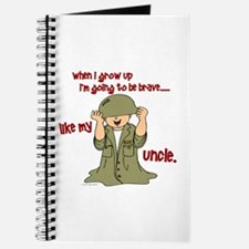 Brave Like My Uncle 1 Journal