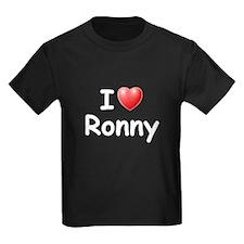 I Love Ronny (W) T