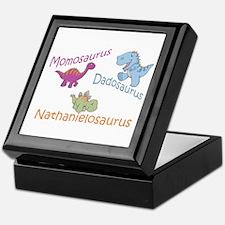 Mom, Dad & Nathanielosaurus Keepsake Box