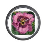 Macbeth Daylily Wall Clock