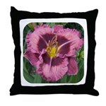Macbeth Daylily Throw Pillow