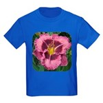 Macbeth Daylily Kids Dark T-Shirt