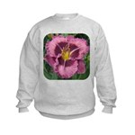 Macbeth Daylily Kids Sweatshirt