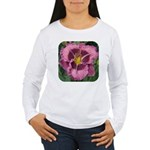 Macbeth Daylily Women's Long Sleeve T-Shirt