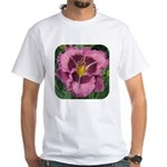 Macbeth Daylily White T-Shirt