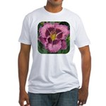 Macbeth Daylily Fitted T-Shirt