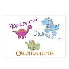 Mom, Dad & Owenosaurus Postcards (Package of 8)