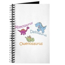 Mom, Dad & Owenosaurus Journal