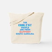Coolest: Gaffney, SC Tote Bag