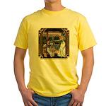 Cinderella & Godmother Yellow T-Shirt