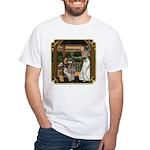 Cinderella & Godmother White T-Shirt