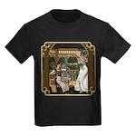 Cinderella & Godmother Kids Dark T-Shirt