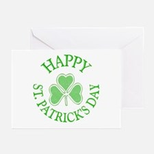 Shamrock St. Patrick's Day Greeting Cards (Pk of 1