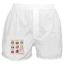 Loving Ice Cream Boxer Shorts
