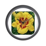 Fooled Me Daylily Wall Clock