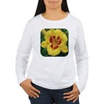 Fooled Me Daylily Women's Long Sleeve T-Shirt