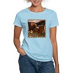 Flight of the Eagle Close Up Women's Light T-Shirt