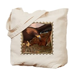 Flight of the Eagle Close Up Tote Bag