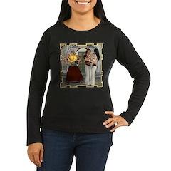 Aladdin Women's Long Sleeve Dark T-Shirt