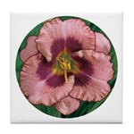 Daring Deception Daylily Tile Coaster
