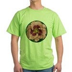 Daring Deception Daylily Green T-Shirt