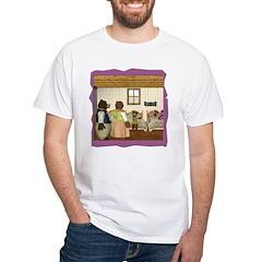 Goldilocks & The 3 Bears White T-Shirt