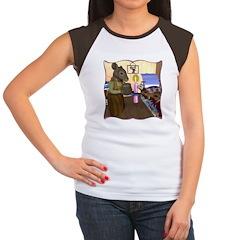 HDD Safe At Last! Women's Cap Sleeve T-Shirt