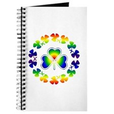 Clover Irish Rainbow Journal