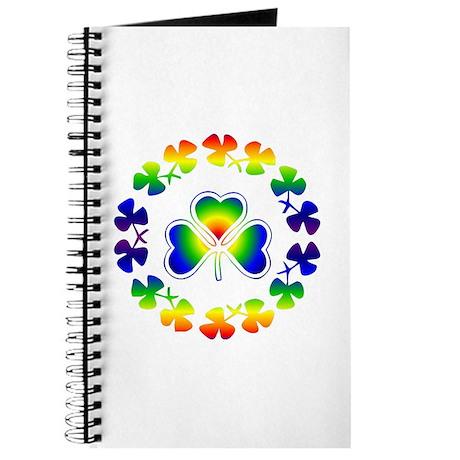 Clover Irish Rainbow Journal