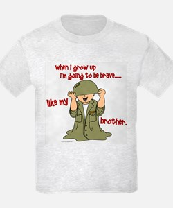 Brave Like My Brother 1 T-Shirt