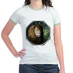 King of the Jungle Jr. Ringer T-Shirt