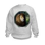 King of the Jungle Kids Sweatshirt
