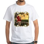 Little Miss Muffet White T-Shirt