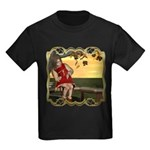 Little Miss Muffet Kids Dark T-Shirt