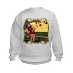Little Miss Muffet Kids Sweatshirt