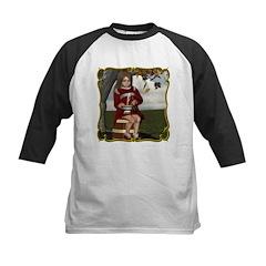 Little Miss Tucket Kids Baseball Jersey