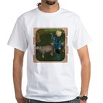 LLB - Blow Your Horn! White T-Shirt