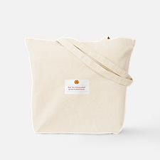 Canvas Tote Bag - Orange