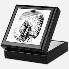 Native American Art #0022 Keepsake Box