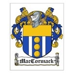MacCormack Family Crest Small Poster