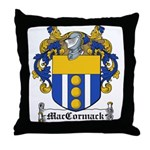 MacCormack Family Crest Throw Pillow