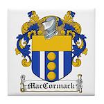 MacCormack Family Crest Tile Coaster