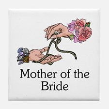 Handfasting Mother of the Bride Tile Coaster