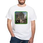 Old MacDonald White T-Shirt